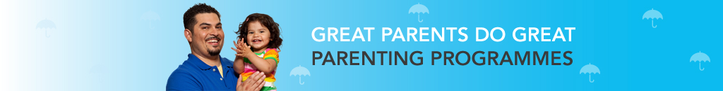 Father and daughter – Great parents do great parenting programmes.